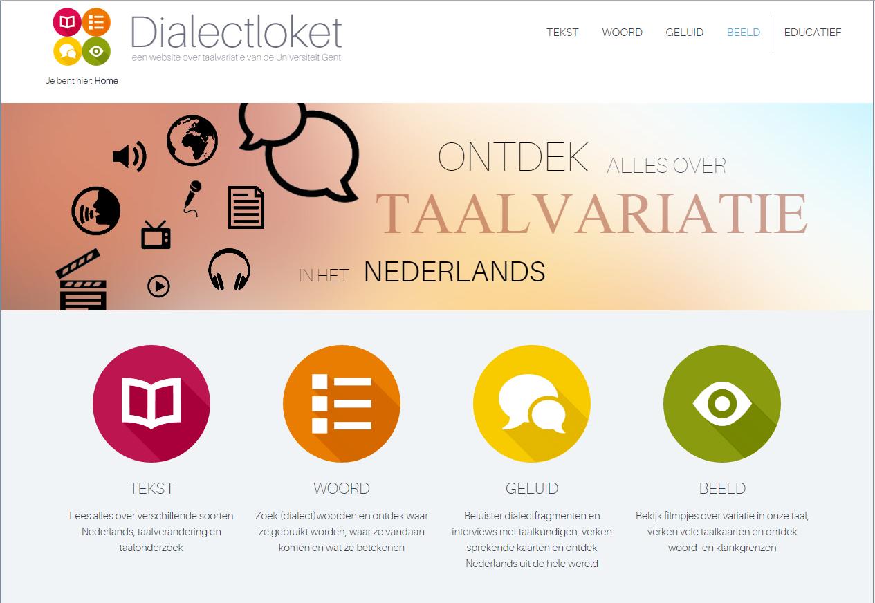 Visit Dialectloket at the Language Market